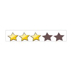 Star Rating Copy Flano Scarf (Mini)