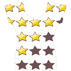 Star Rating Copy Women s V-Neck Cap Sleeve Top