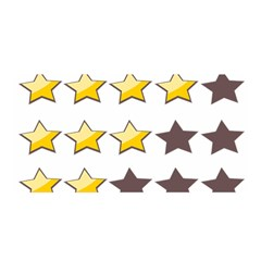 Star Rating Copy Satin Wrap