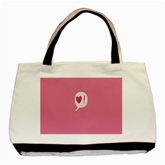 Valentines Pink Day Copy Basic Tote Bag