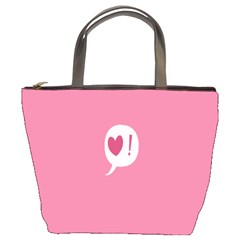 Valentines Pink Day Copy Bucket Bags