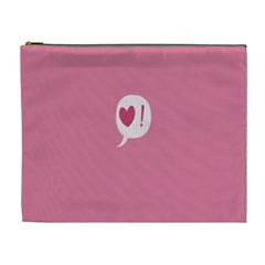 Valentines Pink Day Copy Cosmetic Bag (XL)