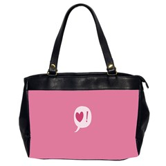 Valentines Pink Day Copy Office Handbags (2 Sides)