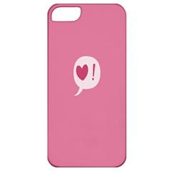 Valentines Pink Day Copy Apple iPhone 5 Classic Hardshell Case