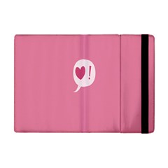 Valentines Pink Day Copy Apple iPad Mini Flip Case