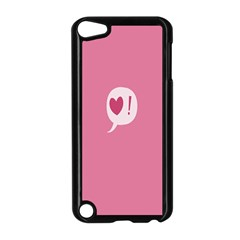 Valentines Pink Day Copy Apple iPod Touch 5 Case (Black)