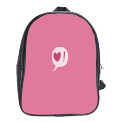 Valentines Pink Day Copy School Bags (XL)