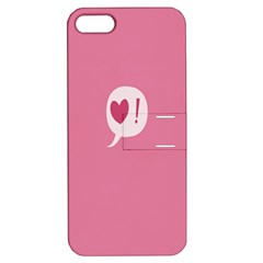 Valentines Pink Day Copy Apple iPhone 5 Hardshell Case with Stand