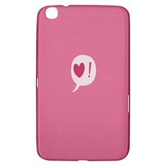Valentines Pink Day Copy Samsung Galaxy Tab 3 (8 ) T3100 Hardshell Case