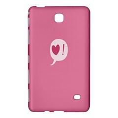Valentines Pink Day Copy Samsung Galaxy Tab 4 (8 ) Hardshell Case