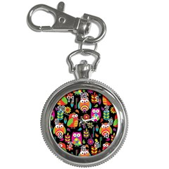 Ultra Soft Owl Key Chain Watches