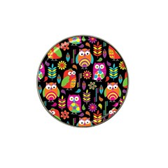 Ultra Soft Owl Hat Clip Ball Marker (10 pack)