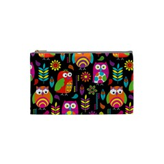Ultra Soft Owl Cosmetic Bag (Small)