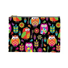 Ultra Soft Owl Cosmetic Bag (Large)
