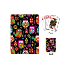 Ultra Soft Owl Playing Cards (Mini)