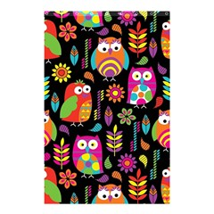 Ultra Soft Owl Shower Curtain 48  x 72  (Small)