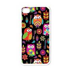 Ultra Soft Owl Apple iPhone 4 Case (White)
