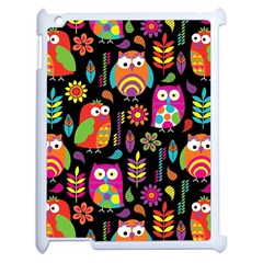 Ultra Soft Owl Apple iPad 2 Case (White)