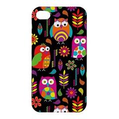 Ultra Soft Owl Apple iPhone 4/4S Premium Hardshell Case