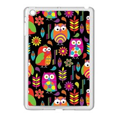 Ultra Soft Owl Apple iPad Mini Case (White)