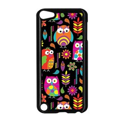Ultra Soft Owl Apple iPod Touch 5 Case (Black)