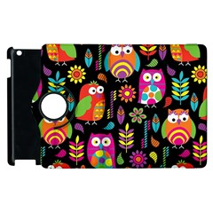 Ultra Soft Owl Apple iPad 3/4 Flip 360 Case