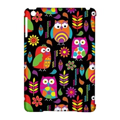 Ultra Soft Owl Apple iPad Mini Hardshell Case (Compatible with Smart Cover)