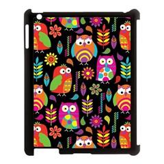 Ultra Soft Owl Apple iPad 3/4 Case (Black)