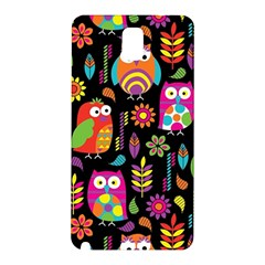 Ultra Soft Owl Samsung Galaxy Note 3 N9005 Hardshell Back Case