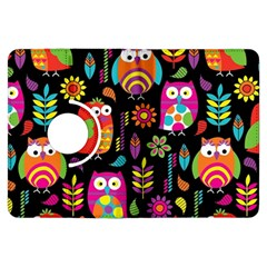 Ultra Soft Owl Kindle Fire HDX Flip 360 Case