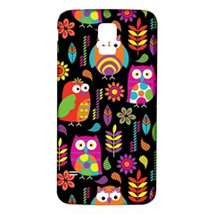 Ultra Soft Owl Samsung Galaxy S5 Back Case (White)
