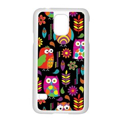 Ultra Soft Owl Samsung Galaxy S5 Case (White)