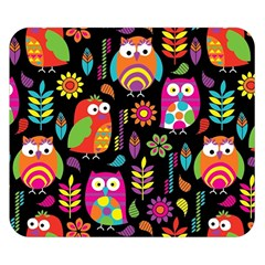 Ultra Soft Owl Double Sided Flano Blanket (Small)