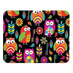 Ultra Soft Owl Double Sided Flano Blanket (Large)
