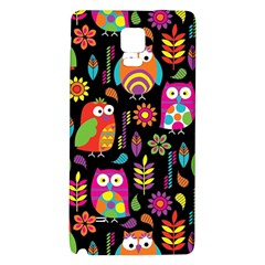 Ultra Soft Owl Galaxy Note 4 Back Case