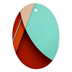 Thumb Lollipop Wallpaper Oval Ornament (Two Sides)