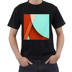 Thumb Lollipop Wallpaper Men s T-Shirt (Black)