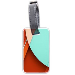 Thumb Lollipop Wallpaper Luggage Tags (Two Sides)
