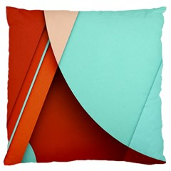 Thumb Lollipop Wallpaper Large Cushion Case (Two Sides)