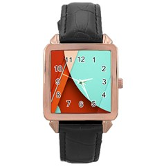 Thumb Lollipop Wallpaper Rose Gold Leather Watch