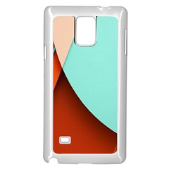 Thumb Lollipop Wallpaper Samsung Galaxy Note 4 Case (White)