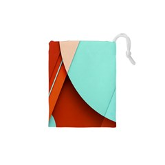 Thumb Lollipop Wallpaper Drawstring Pouches (XS)
