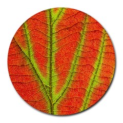 Unique Leaf Round Mousepads