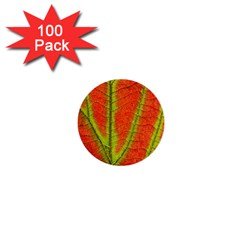 Unique Leaf 1  Mini Buttons (100 pack)