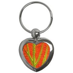 Unique Leaf Key Chains (Heart)