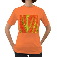 Unique Leaf Women s Dark T-Shirt