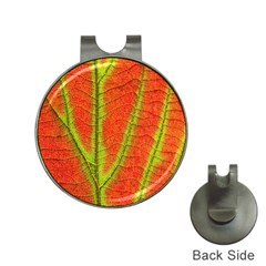 Unique Leaf Hat Clips with Golf Markers