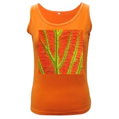 Unique Leaf Women s Dark Tank Top