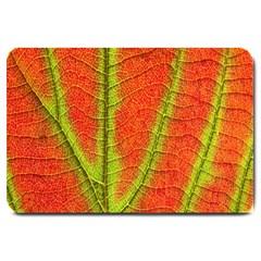 Unique Leaf Large Doormat