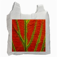 Unique Leaf Recycle Bag (One Side)